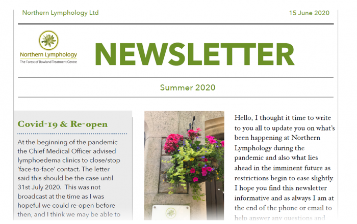 Summer '20 Newsletter
