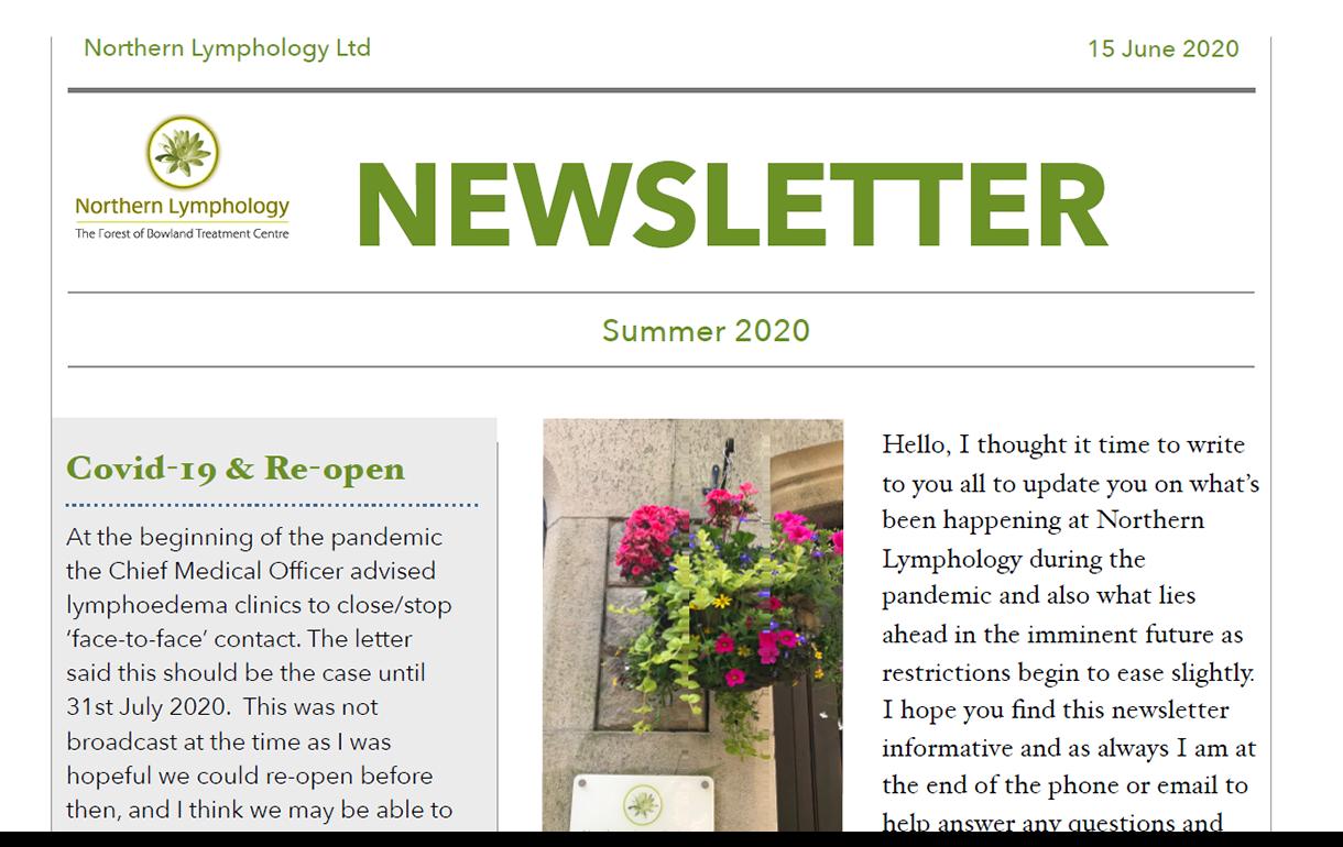 Summer '20 Newsletter